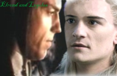 Elrond and Legolas